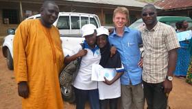 Thomas, Janet, Fatima, Jonas (author of blog) and Joshua