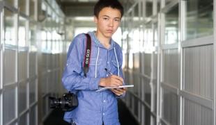 Teen journalist rallies change