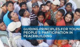 Guiding Principles on Young People's Participation in Peacebuilding
