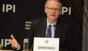 Panelist Henk-Jan Brinkman, Chief of the Policy in the Planning and Application Branch at UN PBSO