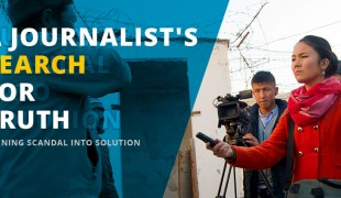 A journalist's search for truth: Turning scandal into solution