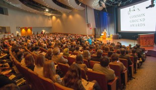 Full house for the 2014 Common Ground Awards at the National Geographic Society Auditorium.