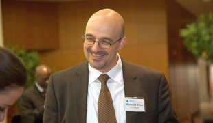 Search for Common Ground President & CEO, Shamil Idriss, enjoying the reception following the awards.