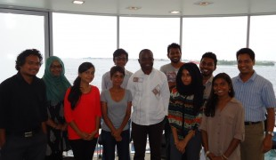 Trainers from Maldives Prepare to Lead Youth Democracy Camps