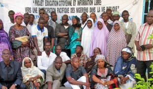 Civic education and free information in Zinder