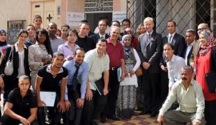 British Ambassador visits Mediation Center