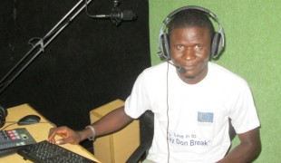 Back home, Emmanuel becomes a radio producer