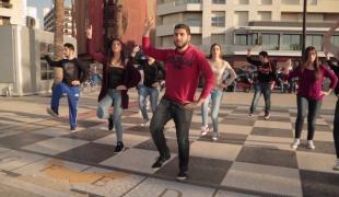 Dabkhe Flash Mob in Beirut