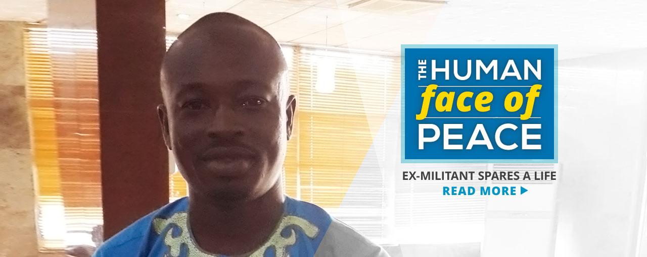 Ex-militant spares a life