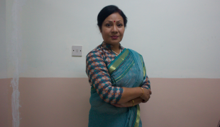 Lead actress Gauri Malla will portray Nepal's first female Prime Minister.