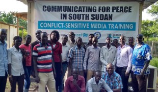 South Sudan Journalists Trained on Conflict-Sensitive Reporting Skills