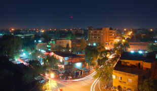Niger by night