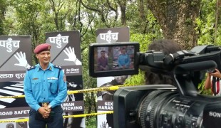 Search - Nepal's first reality show turns police officers into TV celebrities
