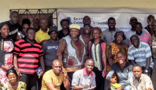 A partnership between Liberia's institutions and civil society