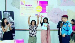 Former Maoist Combatant Gyan Bahadur Lama wins PAHUNCH