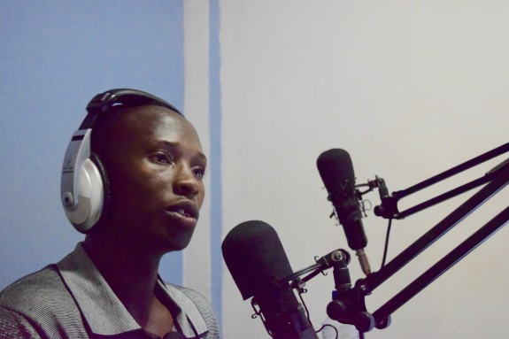 Jean-Baptiste has been hosting radio programs since he was a student.
