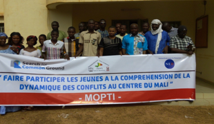 Mali project A Youth-led Approach to Conflict Analysis_