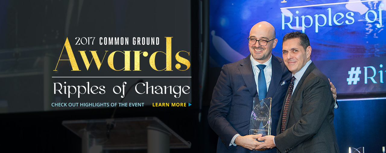2017 Common Ground Awards