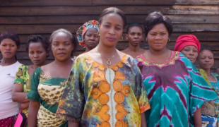 Congolese Army Wife Stands Up Against Domestic Violence